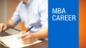 choose mba as a career